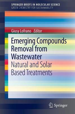 Emerging Compounds Removal from Wastewater: Natural and Solar Based Treatments - SpringerBriefs in Molecular Science (Paperback)