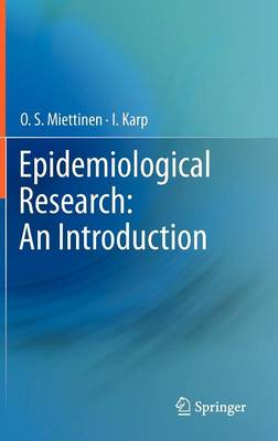 Epidemiological Research: An Introduction (Hardback)