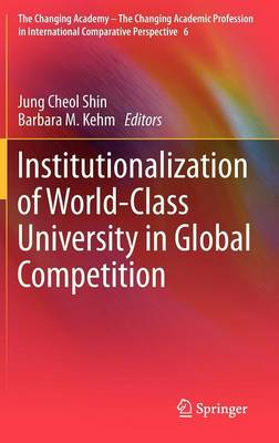 Institutionalization of World-Class University in Global Competition - The Changing Academy - The Changing Academic Profession in International Comparative Perspective 6 (Hardback)