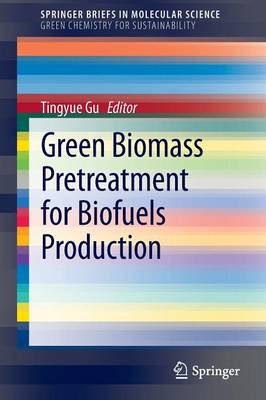 Green Biomass Pretreatment for Biofuels Production - SpringerBriefs in Molecular Science (Paperback)