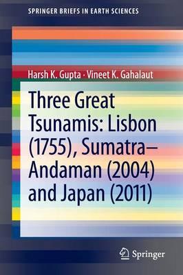 Three Great Tsunamis: Lisbon (1755), Sumatra-Andaman (2004) and Japan (2011) - SpringerBriefs in Earth Sciences (Paperback)