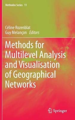 Methods for Multilevel Analysis and Visualisation of Geographical Networks - Methodos Series 11 (Hardback)