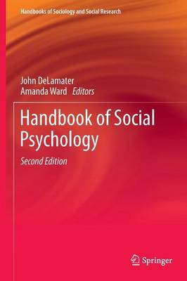 Handbook of Social Psychology - Handbooks of Sociology and Social Research (Hardback)