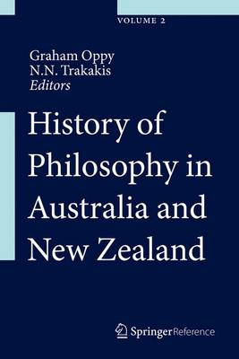 History of Philosophy in Australia and New Zealand - History of Philosophy in Australia and New Zealand