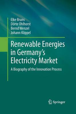 Renewable Energies in Germany's Electricity Market: A Biography of the Innovation Process (Paperback)