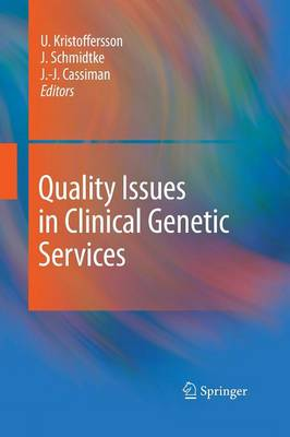 Quality Issues in Clinical Genetic Services (Paperback)