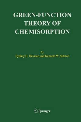 Green-Function Theory of Chemisorption (Paperback)