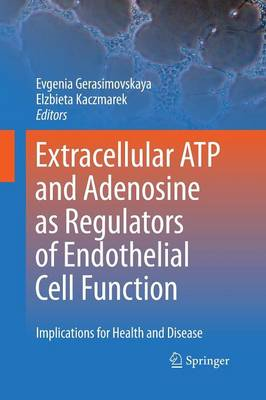 Extracellular ATP and adenosine as regulators of endothelial cell function: Implications for health and disease (Paperback)