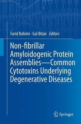 Non-fibrillar Amyloidogenic Protein Assemblies - Common Cytotoxins Underlying Degenerative Diseases (Paperback)