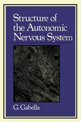 Structure of the Autonomic Nervous System (Paperback)