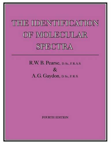 The Identification of Molecular Spectra (Paperback)