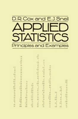 Applied Statistics: Principles and Examples (Paperback)