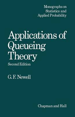 Applications of Queueing Theory - Ettore Majorana International Science Series 4 (Paperback)