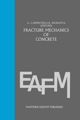 Fracture mechanics of concrete: Material characterization and testing: Material Characterization and Testing - Engineering Applications of Fracture Mechanics 3 (Paperback)