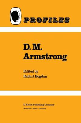 D.M. Armstrong - Profiles 4 (Paperback)