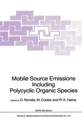Mobile Source Emissions Including Policyclic Organic Species - NATO Science Series C 112 (Paperback)