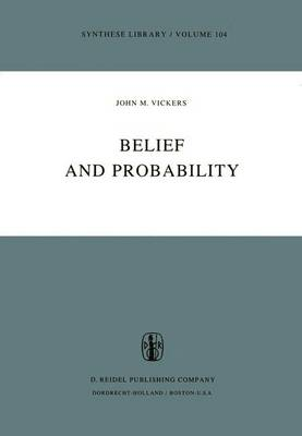 Belief and Probability - Synthese Library 104 (Paperback)
