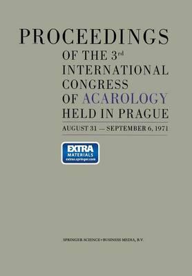 Proceedings of the 3rd International Congress of Acarology (Paperback)
