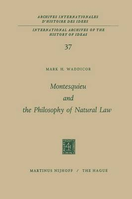 montesquieus greatest mark on philosophy essay