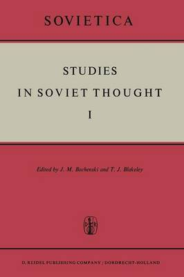 Studies in Soviet Thought - Sovietica 7 (Paperback)