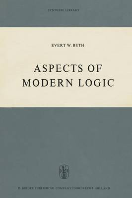 Aspects of Modern Logic - Synthese Library 32 (Paperback)