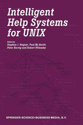 Intelligent Help Systems for UNIX (Paperback)