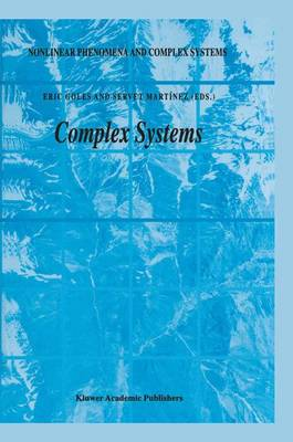 Complex Systems - Nonlinear Phenomena and Complex Systems 6 (Paperback)