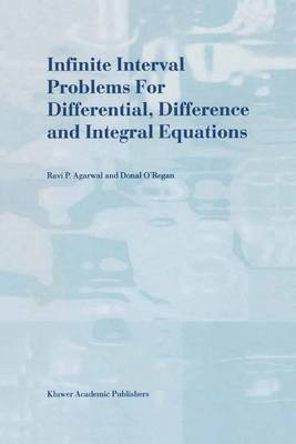 Infinite Interval Problems for Differential, Difference and Integral Equations (Paperback)