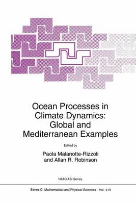 Ocean Processes in Climate Dynamics: Global and Mediterranean Examples - NATO Science Series C 419 (Paperback)