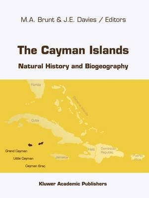 The Cayman Islands: Natural History and Biogeography - Monographiae Biologicae 71 (Paperback)