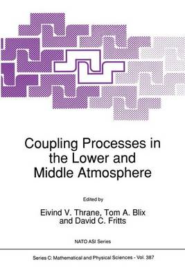 Coupling Processes in the Lower and Middle Atmosphere - NATO Science Series C 387 (Paperback)