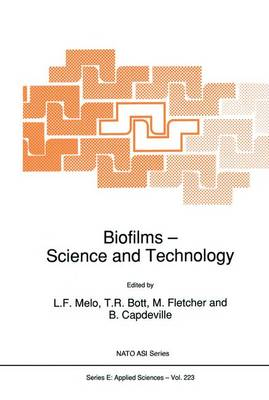 Biofilms - Science and Technology - Nato Science Series E: 223 (Paperback)