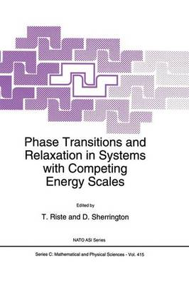 Phase Transitions and Relaxation in Systems with Competing Energy Scales - NATO Science Series C 415 (Paperback)