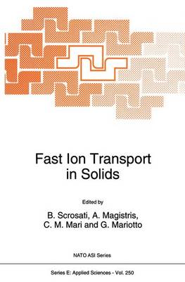 Fast Ion Transport in Solids - Nato Science Series E: 250 (Paperback)