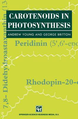 Carotenoids in Photosynthesis (Paperback)