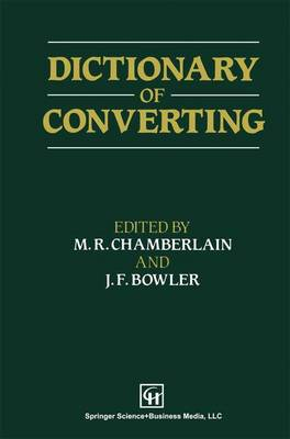Dictionary of Converting (Paperback)