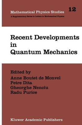 Recent Developments in Quantum Mechanics: Proceedings of the Brasov Conference, Poiana Brasov 1989, Romania - Mathematical Physics Studies 12 (Paperback)