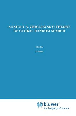 Theory of Global Random Search - Mathematics and its Applications 65 (Paperback)