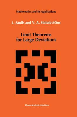 Limit Theorems for Large Deviations - Mathematics and its Applications 73 (Paperback)