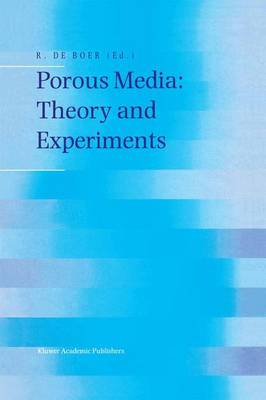 Porous Media: Theory and Experiments (Paperback)