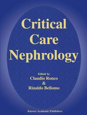 Critical Care Nephrology (Paperback)