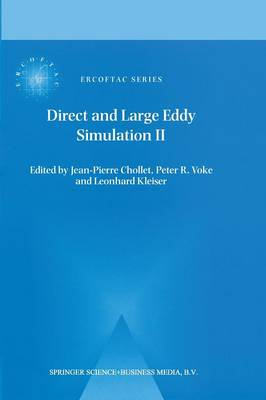 Direct and Large-Eddy Simulation II: Proceedings of the ERCOFTAC Workshop held in Grenoble, France, 16-19 September 1996 - ERCOFTAC Series 5 (Paperback)
