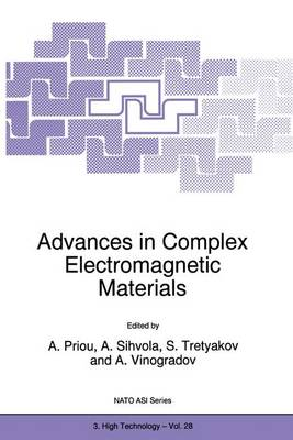 Advances in Complex Electromagnetic Materials - Nato Science Partnership Subseries: 3 28 (Paperback)