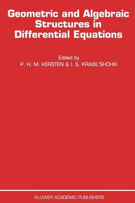 Geometric and Algebraic Structures in Differential Equations (Paperback)