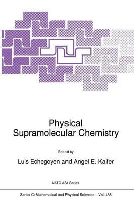 Physical Supramolecular Chemistry - NATO Science Series C 485 (Paperback)