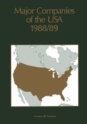 Major Companies of the USA 1988/89 (Paperback)