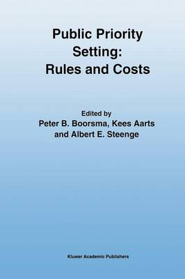 Public Priority Setting: Rules and Costs (Paperback)