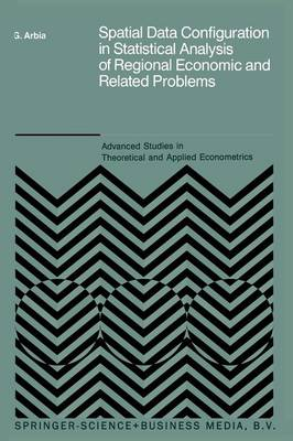 Spatial Data Configuration in Statistical Analysis of Regional Economic and Related Problems - Advanced Studies in Theoretical and Applied Econometrics 14 (Paperback)