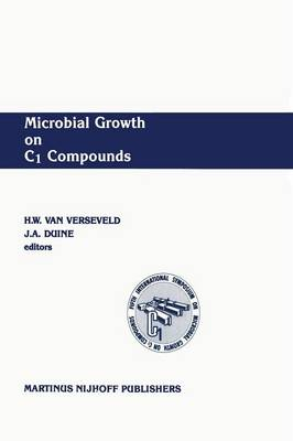 Microbial Growth on C1 Compounds: Proceedings of the 5th International Symposium (Paperback)