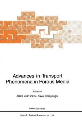 Advances in Transport Phenomena in Porous Media - Nato Science Series E: 128 (Paperback)
